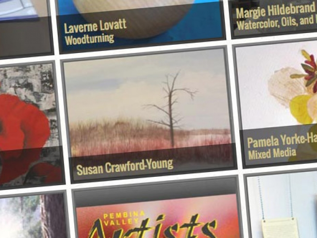 Prairieland Artist Collective Responsive Design