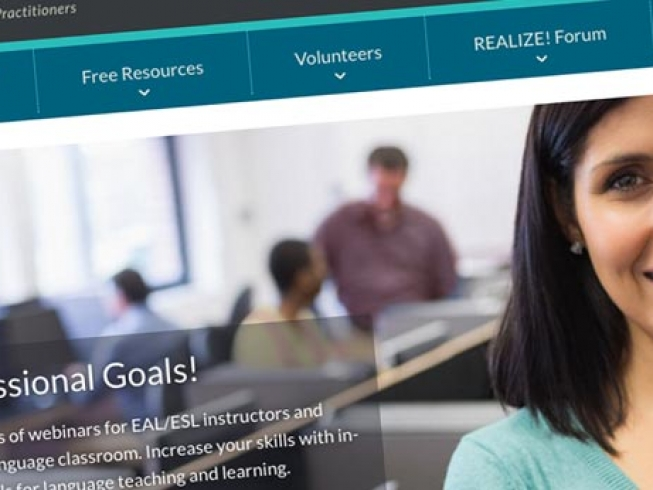 Realize: online professional development resources and volunteer training